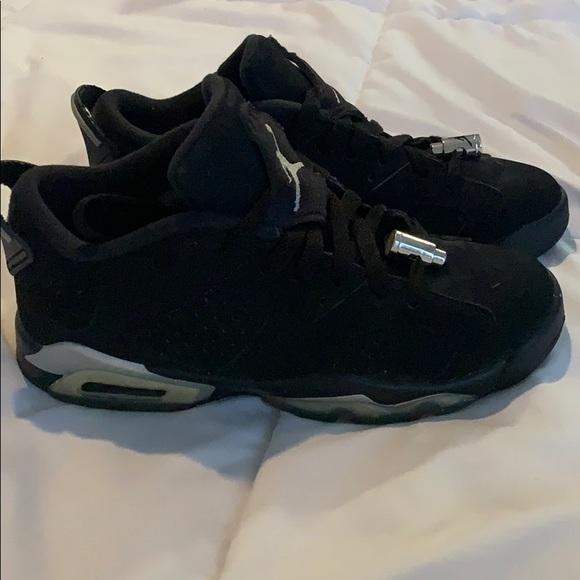 Jordan Shoes | Black Low Top Jordans